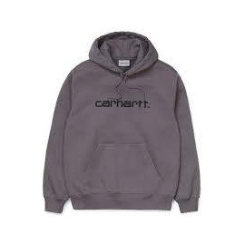 CARHARTT HOODED SWEAT HUSKY/BLACK