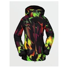 VOLCOM 3D STRETCH GORE JACKET ACID YELLOW