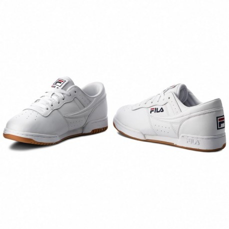 Chaussures Sneakers Fila Original Fitness Blanches