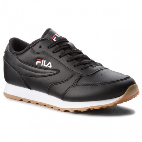 Sneakers Fila Orbit Jogger low Noires chez Pisolo Proshop