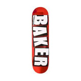 BAKER DECK BRAND LOGO RED FOIL 8.5