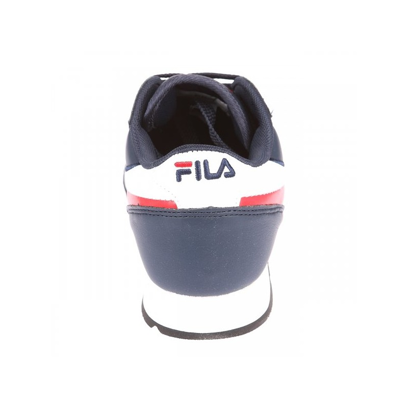 Sneakers Fila Orbit Jogger low Bleues chez Pisolo Proshop