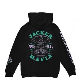 JACKER HOODIE NUCLEAR BLACK