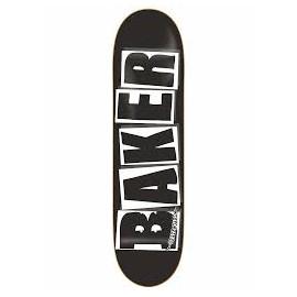 DECK BAKER NOIR ET BLANCHE DE TAILLE 8.125