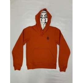 PISOLO BASIC HOODY 18 BRIQUE ORANGE