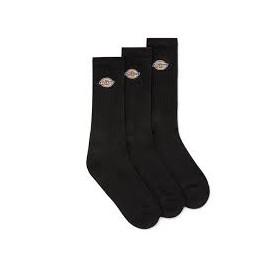 DICKIES GROVE SOCK BLACK X3 PACK