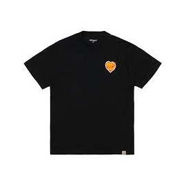 CARHARTT S/S HARTT OF SOUL T-SHIRT BLACK
