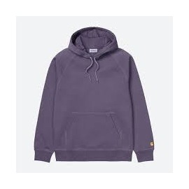 CARHARTT HOODED CHASE SWEAT PROVENCE/GOLD