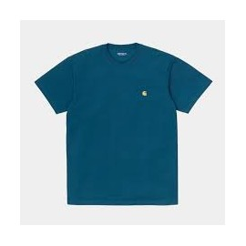 CARHARTT S/S CHASE T-SHIRT CORSE/GOLD
