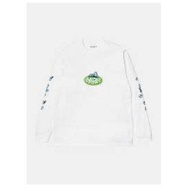 CARHARTT L/S SCREW T-SHIRT WHITE