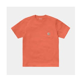 CARHARTT S/S POCKET TSHIRT SHRIMP