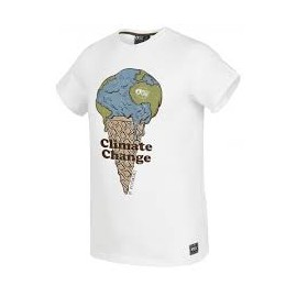 PICTURE MELTED TEE A WHITE