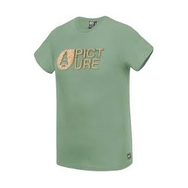 PICTURE BASEMENT CORK TEE C ARMY GREEN