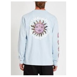 VOLCOM OZZY WRONG L/S TEE AETHER BLUE