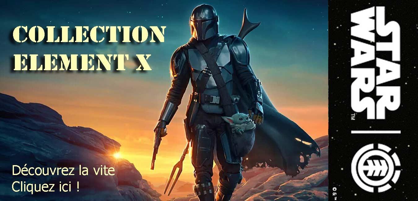 NOUVELLE COLLECTION ELEMENT X STAR WARS